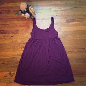 Dresses - Cute Purple Sundress with Empire waist